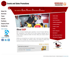Events and Sales Promotions Pvt. Ltd.